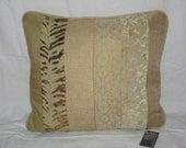 Tonal Texture Sand Pillow Cover 18x18