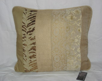 Tonal Texture Sand Pillow Cover 18x18