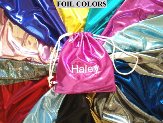 Personalized custom GYMNASTICS GRIP BAG match your team leotard Gymnast Christmas / Holiday present / gift