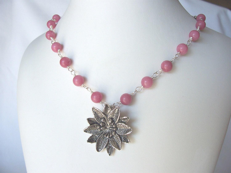 pink rhodonite ...