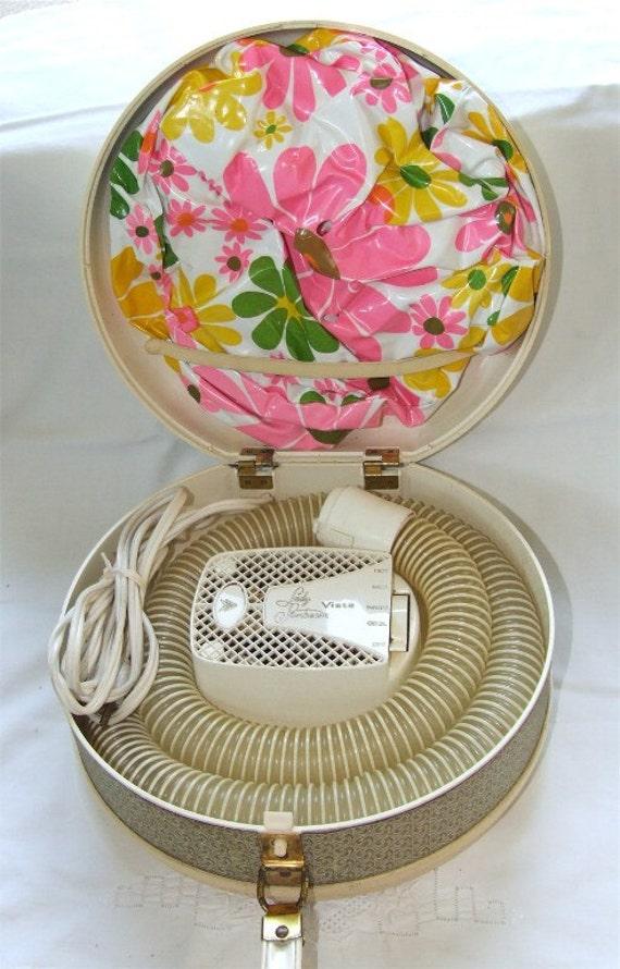 Lady Sunbeam 1960s Bonnet Hair Dryer Vintage Hair Dryer
