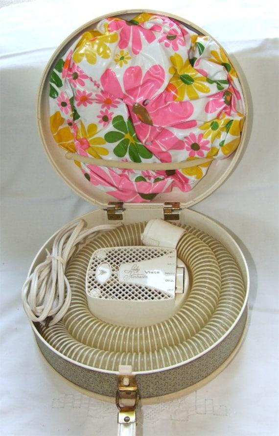 Bonnet Hair Dryer ~ Lady sunbeam s bonnet hair dryer vintage
