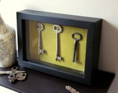 Skeleton Keys to My Heart Shadow Box