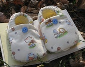 Hey Little Diddle Baby Slipper Shoes Size 6 to 12 mos READY TO SHIP