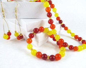 Sunrise Necklace set