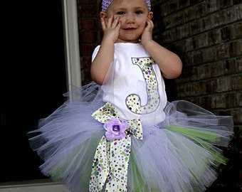 Bliss Tutu with Onsie and Bow YOU Choose COLORS