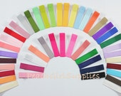 100-Partially Lined Single Prong Alligator Clips U Pick Color