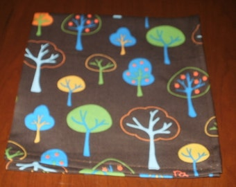 Sale...6 In The Woods Dinner Napkins...17 inches...Stitched Hems Not Serged...FREE SHIPPING