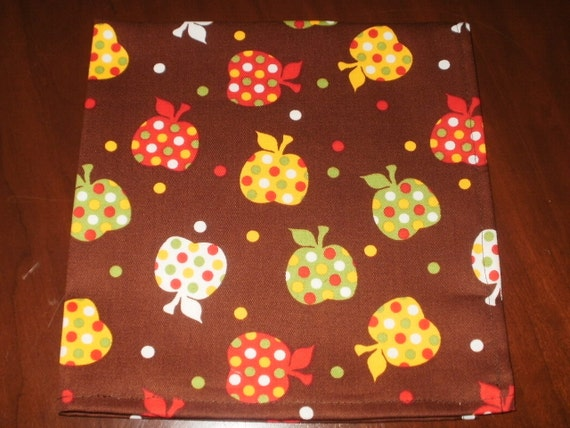 Sale - 6 Cloth Napkins...17 inches...Stitched Hems NOT Serged...FREE  SHIPPING
