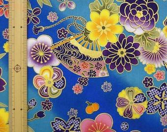 Japanese Kimono design fabric 1 yard