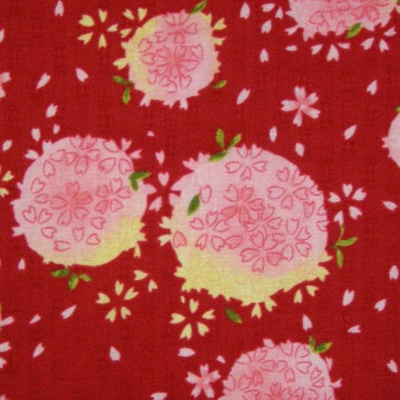 1 yard Sale Japanese kimono design fabric