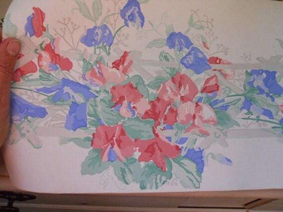 sweet pea wallpaper borders - photo #1