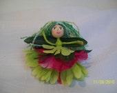 Forest Faerie Sebille OOAK Fairy Doll
