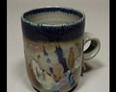 Straight Blue Mug