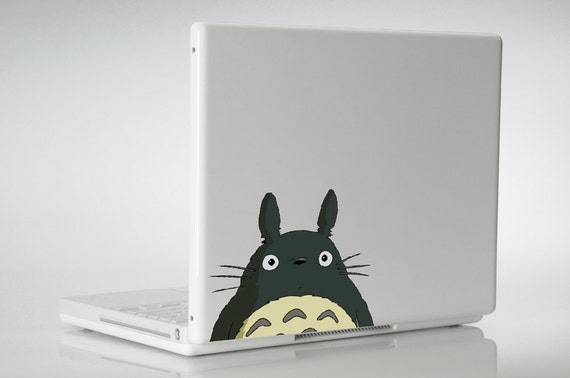 Totoro ipad MacBook laptop decal vinyl sticker