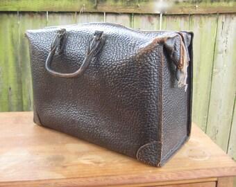 Vintage Leather Case Doctor Bag