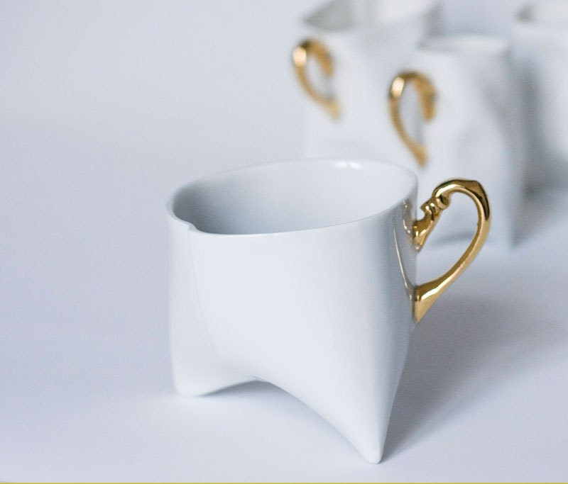 Coffee Cups Set Unique Coffee Mug Or Tea Cup By Endeceramics