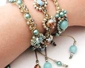 Vintage Style Seaside Bliss Bracelet Set