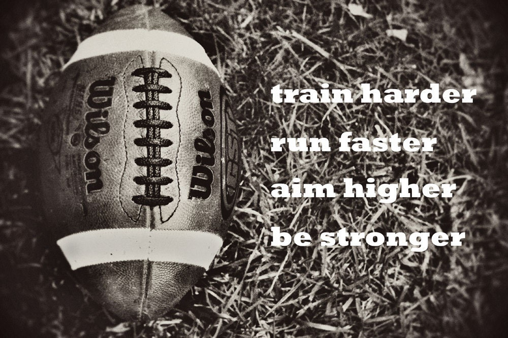 Football Motivational Quotes: Football Sports Boys Room Inspiration By DawnSmithDesigns