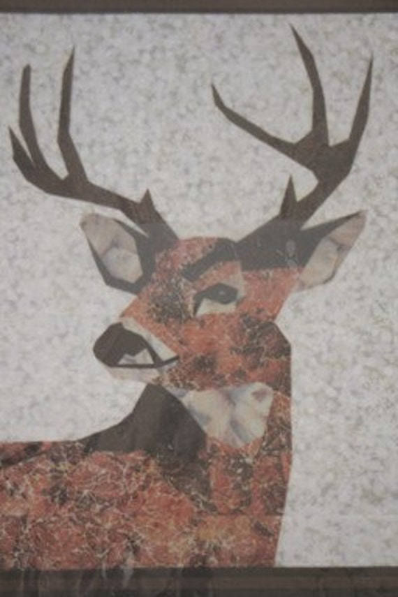 Destash - Quilt  Pattern - White Tailed Deer