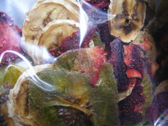Dehydrated Kiwi/ Strawberry / Banana Slices