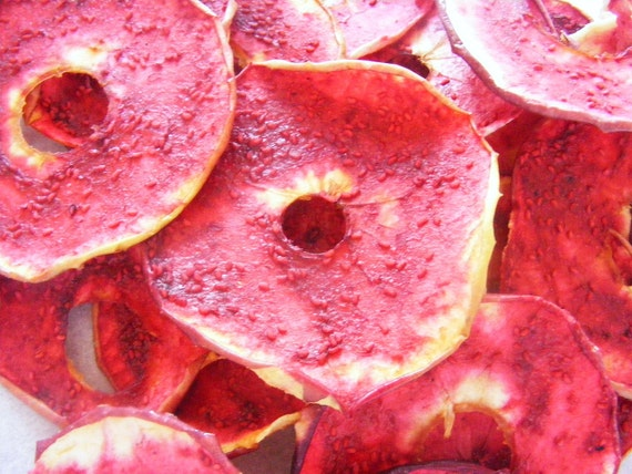 NEW Raspberry glazed Apple Slices - NOW using ORGANIC Apples