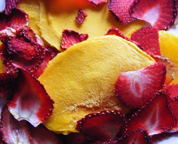 how to make dried fruit slices