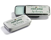 Lip Balm - Mint Julep Lip Therapy - beeskneesbody