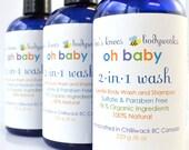 Baby Wash, Natural Baby Body Wash & Shampoo