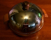Vintage Stainless Steel Penguin Hot and Cold Server