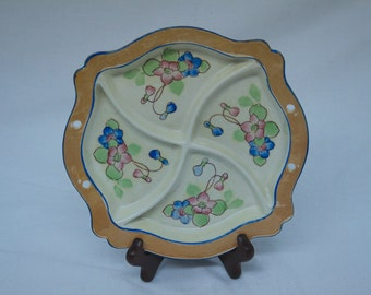 Vintage Hand Painted Japaneese China Plate