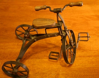 Antique English Tricycle Toy