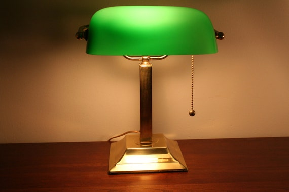 Singapore Lamp Shades Glass Shade Bankers Lamp
