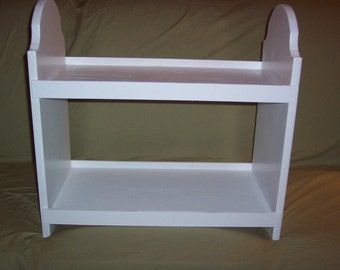 Doll bunk bed for american girl 18 inch dolls, White
