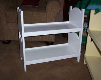Doll bunk bed for american girl 18 inch dolls White