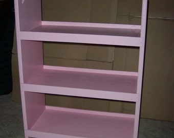 Triple Doll bunk bed for american girl 18 inch dolls.   Pink