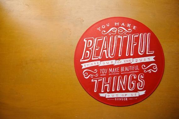 Beautiful Things, Gungor - Lyrics on Record