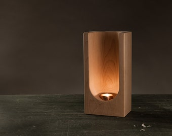 Tealight Totem by Plywood Office
