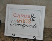 Wedding Sign - Gift Table - Customized
