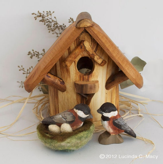 Chestnut Chickadee  Learning Set