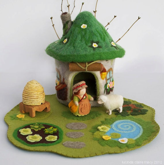 Eco Friendly Sod Roof Gnome Home