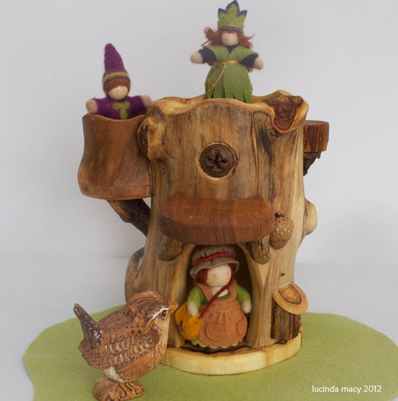 Gnome Tree Fort House