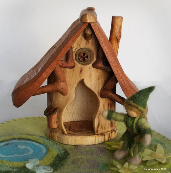 Woodland Fairy Home with Spirit Door