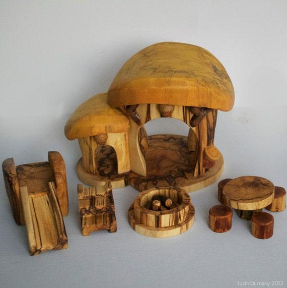 Eco Gnome Home and Play Set