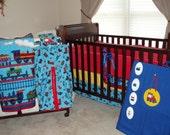 Here Comes the Choo Choo Train Baby Bedding Set