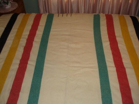 Vintage Hudson Bay Blanket