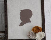 Vintage Baby Silhouette
