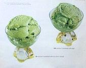 Vintage 1955 Ladies Home Journal Ad Sucaryl Green Sherbet Diet Sweetener