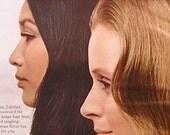 Vintage Print Ad Breck Shampoo Tahitian Girls Glamour Magazine 1966 Full Color