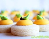 5 dozen Lemon Cookie Nibbles - CraftedCookies
